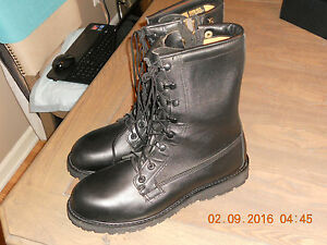 2971d9feab89f3 Image is loading Bates-Mens-Military-Seal-Paratrooper-Blk-Leather-Easy-