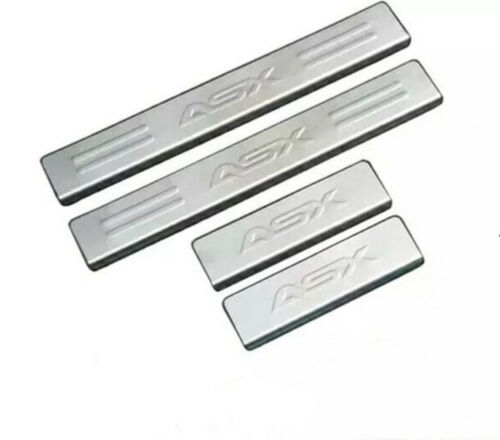 Door Sill Protector,Car Stainless Steel Scuff Plate For Mitsubishi ASX 2013-2018