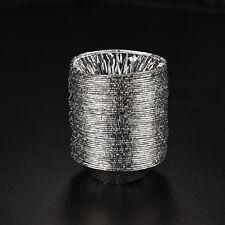 50x Disposable Aluminum Foil Baking Cookie Muffin  Cupcake Egg Tart Mold