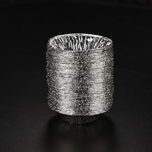 Feuille-D-039-Aluminium-Jetable-50X-Cuisson-Oeuf-De-Gateau-Muffin-Tartes-Mo-FE