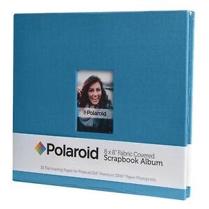 Polaroid-PL2X3SBBL-Textured-Blue-Photo-Album-amp-Sheet-Protector