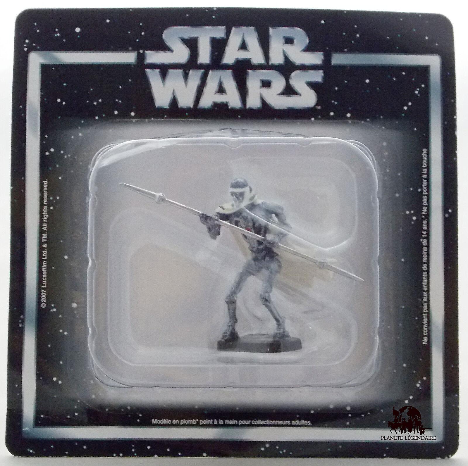 StarWars figurine : Figurine collection Atlas STAR WARS Garde du Corps Général Grievous Figure
