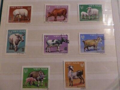 2019 Mode 8 Briefmarken Vietnam 1979 Gestempelt Rheuma Und ErkäLtung Lindern