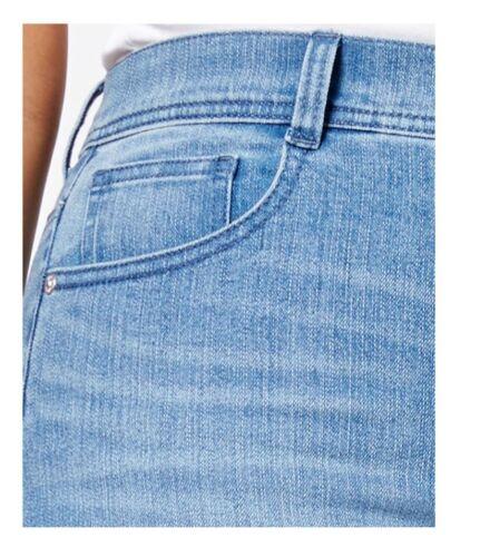 STYLE /& CO Denim Jeans Womens Plus 22W Blue Tummy Control Slim Leg Original $79