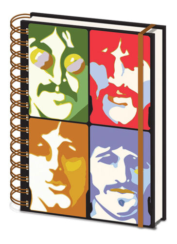 Beatles, The - Yellow Submarine - Faces - Notizbuch A5, Spiralbindung, Notebook