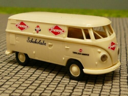 1//87 Brekina # 1816 VW t1 B recuadro Trumpf chocolate colección