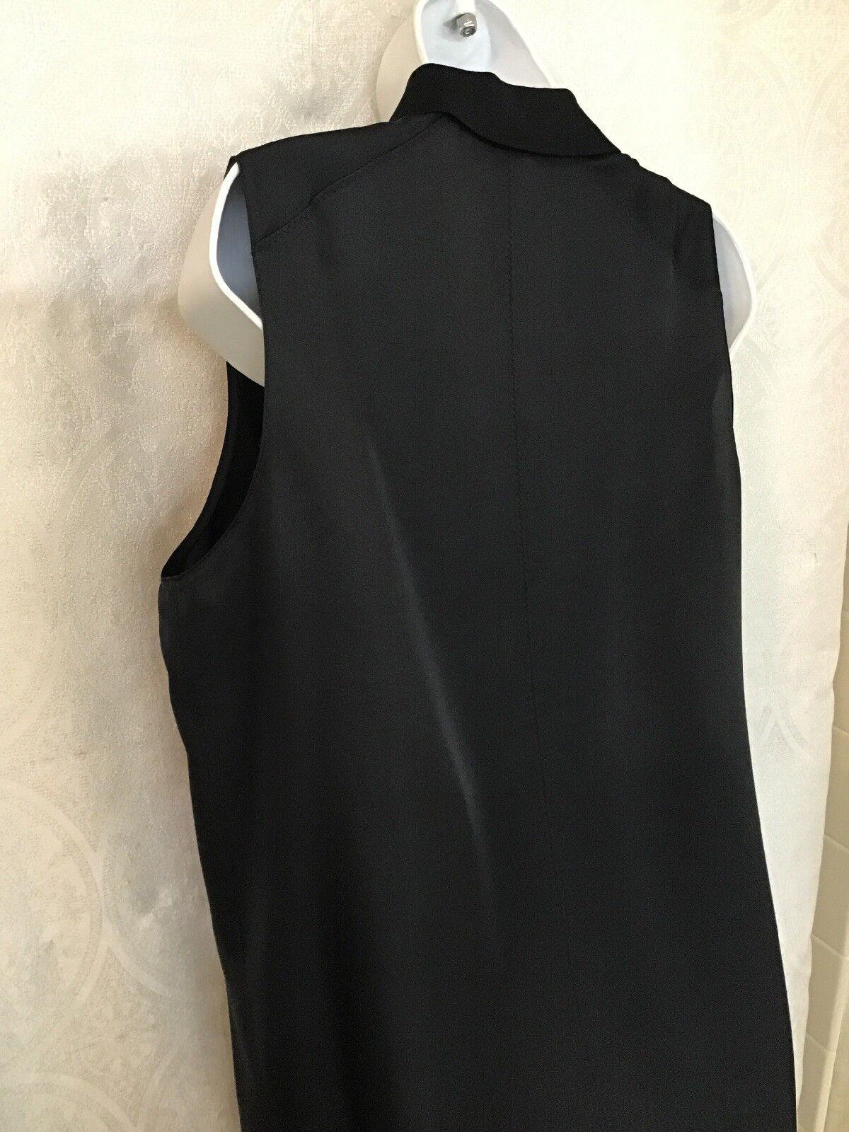 Rag And Bone Blouse Black Silk Sleeveless Three B… - image 6