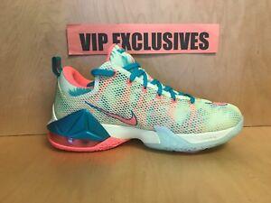 "buy popular 7428a 2d185 Nike LeBron 12 Low ""LeBronold Palmer"" 776652 383 Men sizes 8.5,9.5,10.5"