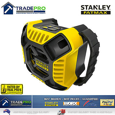 Stanley Fatmax® 18V Bluetooth Speaker Job Site Bass Genuine FMC772B-XE Bare