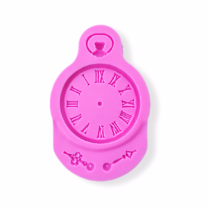 Fairy Tale Grandfather Clock Silicone Mold Alice In Wonderland