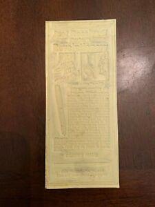 1934-Parker-Vacumatic-Filler-Pen-Advertising-Newspaper-Flong-Print-Mat-Mold