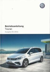 VW-TOURAN-2-Betriebsanleitung-2016-Bedienungsanleitung-Fahrer-Handbuch-BA