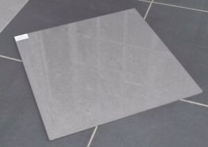 RAK Lounge DARK GREY Polished Porcelain Wall & Floor Tiles 600x600 ...