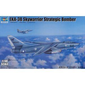 Trumpeter Eka-3b Skywarrior Stratégique Bombardier 1:48 Kit De Montage 02872