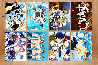 8PCS//set Anime Free Free A3 Posters Print