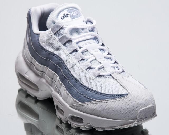 timeless design 478f1 ccfa3 Nike Air Max 95 Essential Men New Pure Platinum Lifestyle Sneakers  749766-036