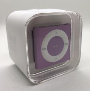 Apple Ipod Shuffle 4 Generation Purple 2gb Current Model Purple New Ebay