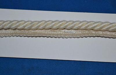 Legatura Flangiato/tubazioni 8 Mm Corda, Crema. X 2/5/10 Metri, Gratis P&p - Pl-3360-mostra Il Titolo Originale In Corto Rifornimento