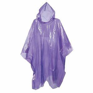 Adulte-Pluie-Poncho-Violet-Impermeable-en-plastique-jetables-pluie-chapeau-capuche-femme-homme