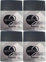 4 Bottles White 2 Black Tanning Bed Lotion Dark Bronzer By Devoted Creations