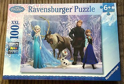Frozen In The Realm Of The Snow Queen 100 pc Jigsaw Puzzle NEW SEALED Elsa/Anna
