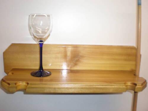 Pool Cue//Drink Holder Popular Wood