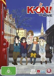 K-On-The-Movie-2-Disc-DVD-Set-Anime-Rare-OOP-Like-New