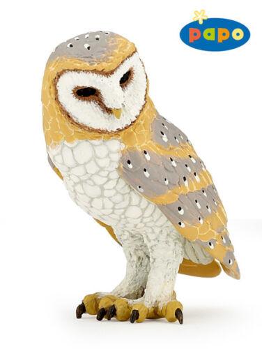 NEW PAPO 53000 Barn Owl RETIRED Wild Life Farm Life