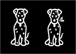 Stick Figure PETS Sticker * Vehicle Decal