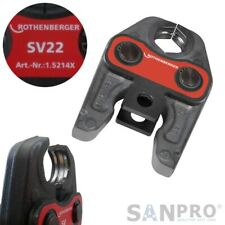Pressbacke V12//15//18//22 Presszange Pressbacken Kupfer Viega Profipress Metall DE