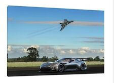 Aston Martin Vulcan - 30x20 Inch Canvas Art - Framed Picture Vulcan Bomber