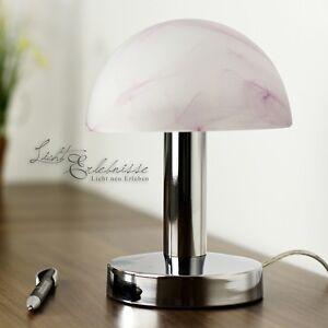 klassische tischleuchte touch funktion tischlampe nachttischleuchten tisch rot ebay. Black Bedroom Furniture Sets. Home Design Ideas