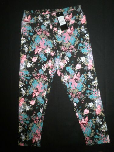 RRP $25 Women/'s Crossroads Floral Crop Jeggings BNWT Sizes: XS /& S Left Only