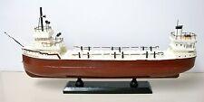 SS Edmund Fitzgerald Handcrafted Wooden Ship Model