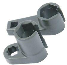 "2pc Oxygen Sensor Socket 22mm & 7/8"" Flare Nut Tool Lambda Lamda Vacuum Switch"