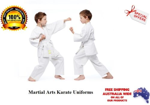 Karate Uniform Best Quality Martial Arts 100% Cotton New GI