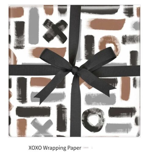 Father/'s day birthday gift wrapping paper XoXo 50cmx70cm 1 sheet