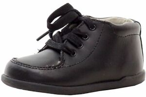 e279dad137e8 BABY INFANT TODDLER BLACK Unisex Walking Shoes INFANT  Toddler JOSMO ...