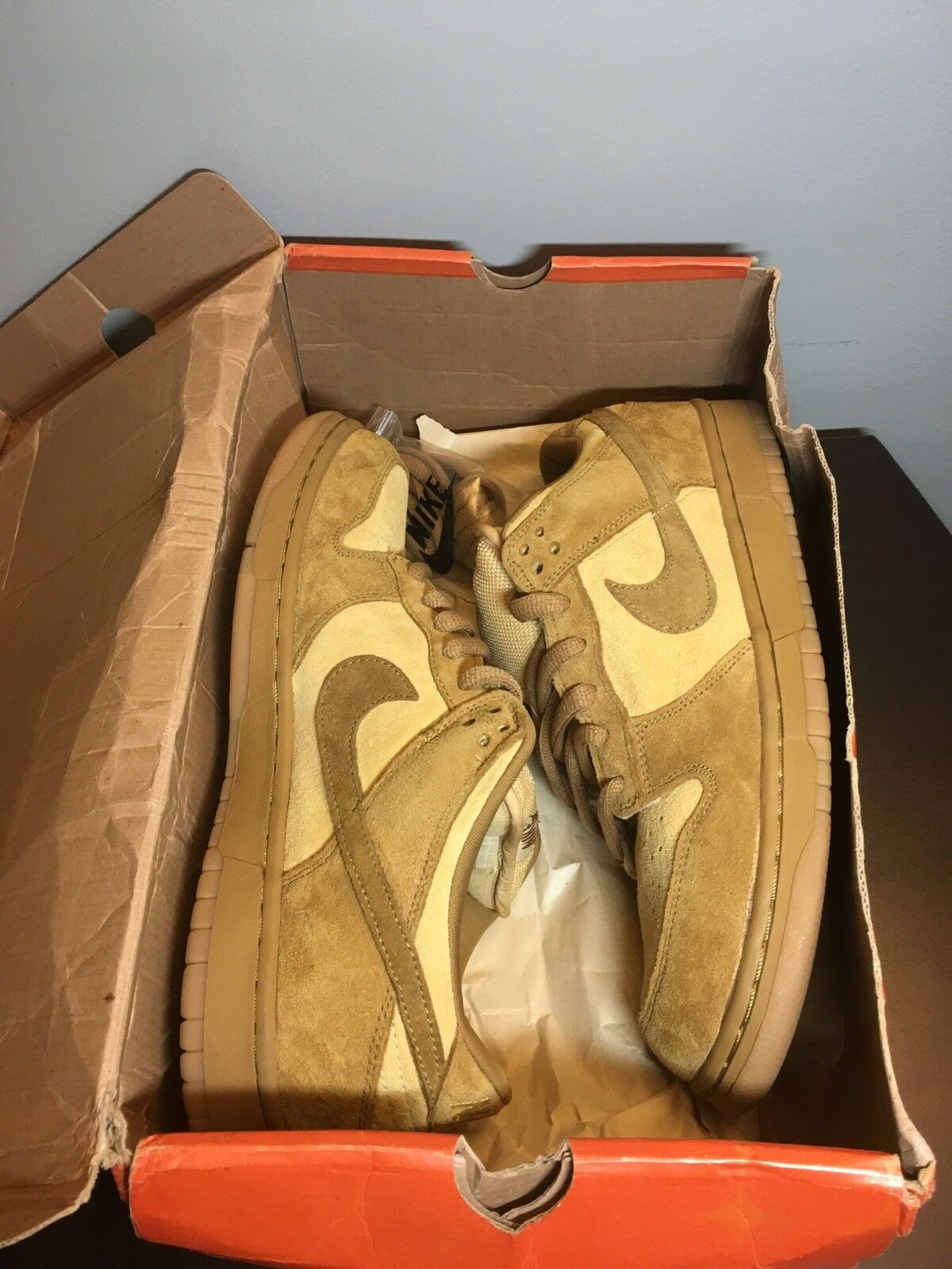 2002 Nike SB Dunk Low Reese Forbes Wheat Size 10.5