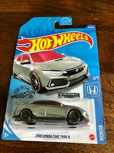 HOT WHEELS 2018 HONDA CIVIC TYPE R 2020 HONDA 2/5 81/250 ...