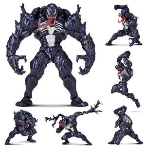 Marvel-Spider-Man-Venom-No-003-Revoltech-series-PVC-Action-Figure-Toy-New-In-Box