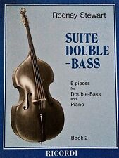 Rodney Stewart - Suite Double-Bass - 5 pieces for Double-Bass and Piano Book2