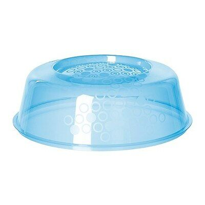 IKEA PRICKIG BLUE MICROWAVE LID,FITS MOST MICROWAVE OVENS,INCL.SMALLER MODELS