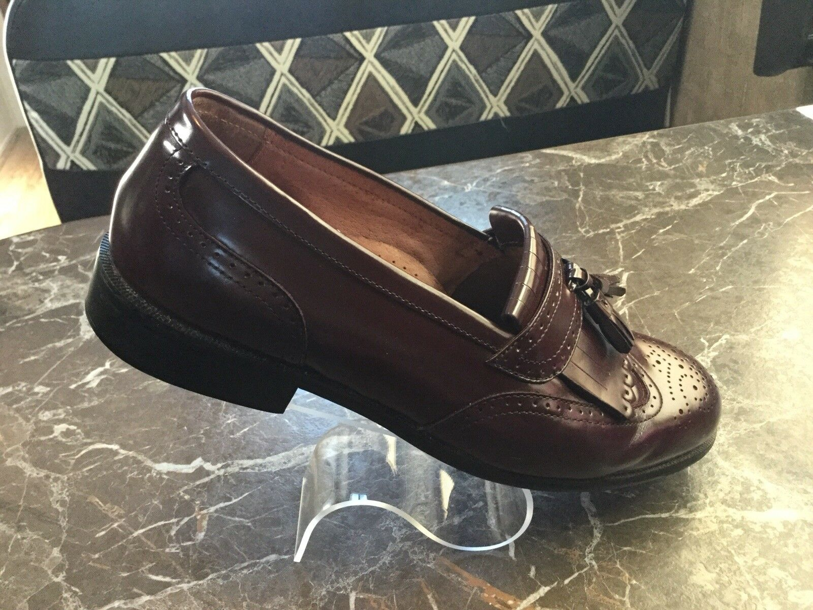 Men's Bostonian Classics First Oxfords Flex Leather Uppers Brogue Shoes Oxfords First 9M 8ff878