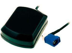 GPS-ANTENNE-NAVI-FAKRA-AUDI-RNS-E-VW-MFD-2-RNS-300-310-mit-5m-Kabel-NEU-OVP