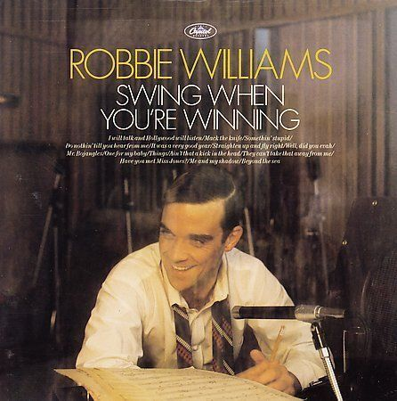 1 of 1 - Swing When You're Winning by Robbie Williams (CD, Nov-2001, EMI Music Distribut…