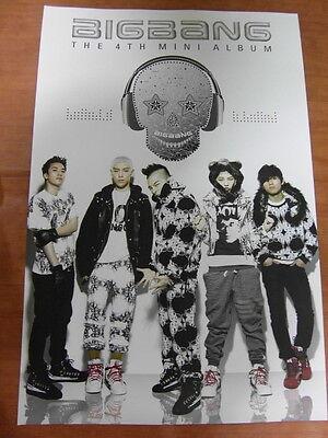 BIGBANG - 4th Mini Album [OFFICIAL] POSTER K-POP *NEW*