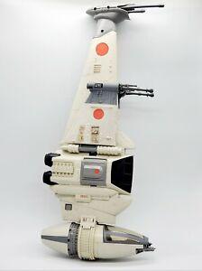 Vintage-LFL-Star-Wars-Rebel-B-Wing-Fighter-COMPLETE-amp-WORKS-1984-Kenner-BWing