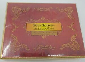 PIATNIK AUSTRIA Double Deck Playing Cards & Box Four Seasons Hotel VIENNA RESORT