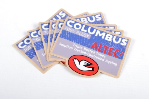 Columbus Altec Columbus Thron Bicycle Decals Vintage Stickers For Road Bikes NOS